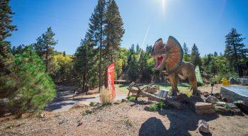 Pali Adventures dinosaur