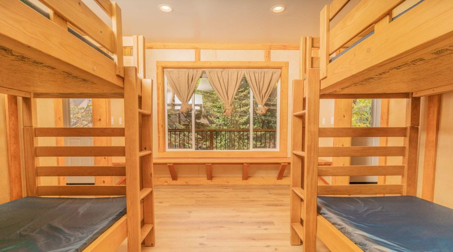 Jump Street bunk interior of beds