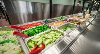 Salad bar vegetables