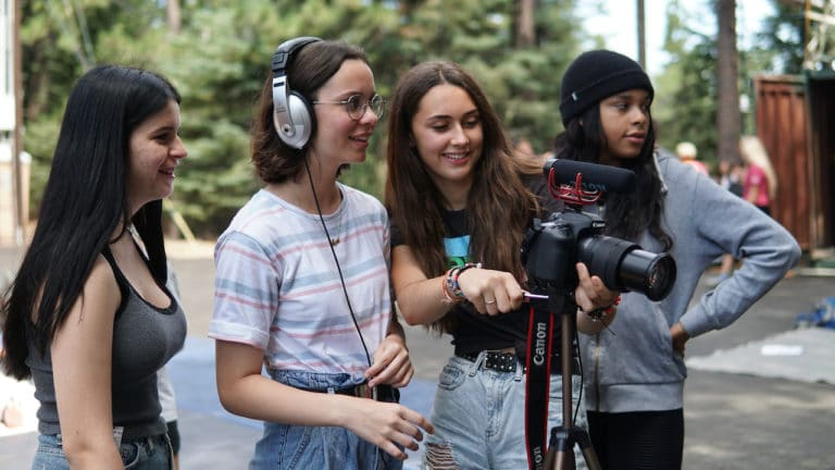 girls at film camp