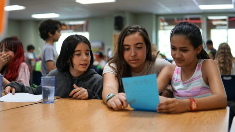 girls at CIT program